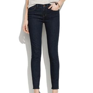 Madewell 37s Skinny Jeans